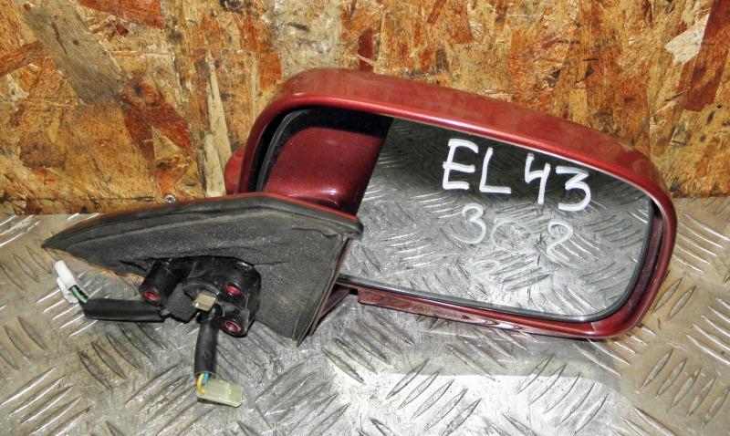 Зеркало Toyota Tercel EL43 5EFE 1991 переднее правое