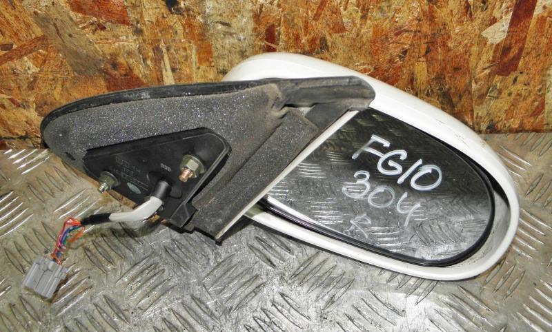 Зеркало Nissan Bluebird Sylphy FG10 QG15DE 2003 переднее правое