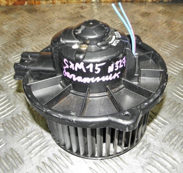 Мотор печки Toyota Gaia SXM15 3SFE 2002 задний