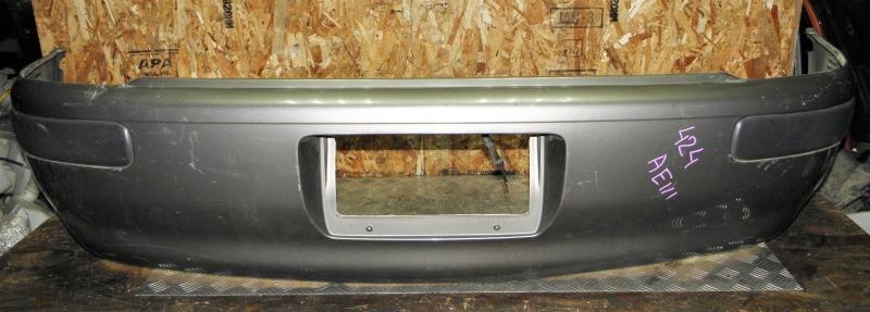 Бампер Toyota Corolla Spacio AE111 4AFE 1998 задний