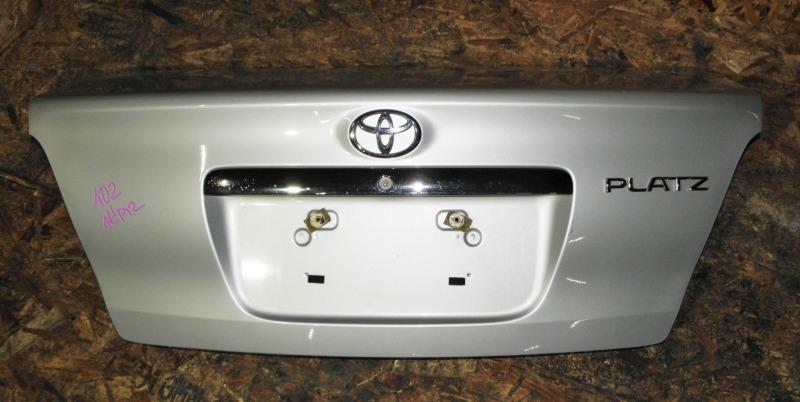 Крышка багажника Toyota Platz NCP12 1NZFE 2004