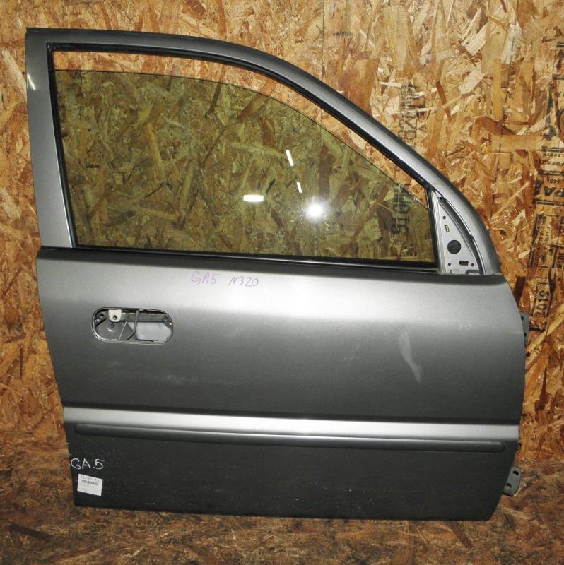 Дверь Honda Logo GA5 D13B 2000 передняя правая