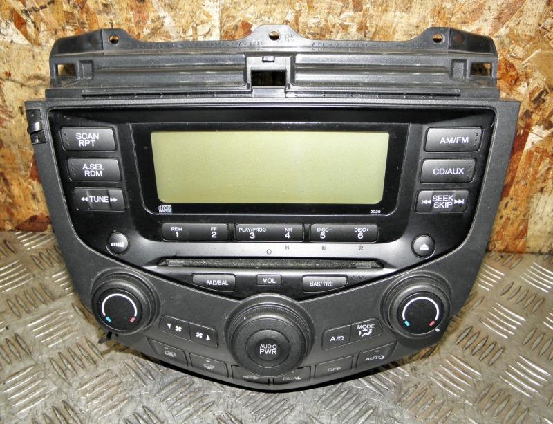 Блок управления климат-контролем Honda Accord CL9 K24A 2003