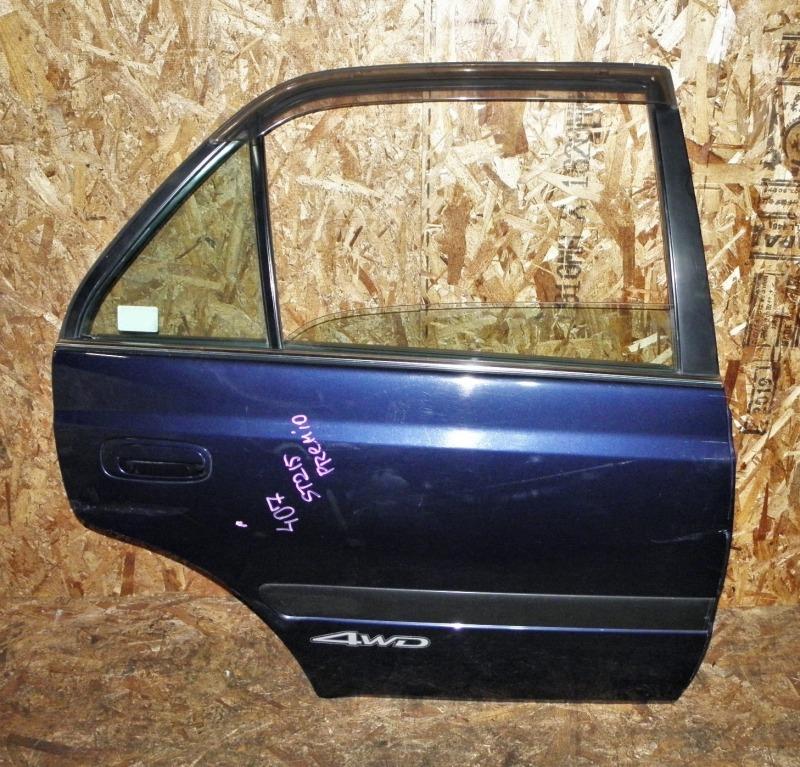 Дверь Toyota Corona Premio ST215 3SFE 1999 задняя правая