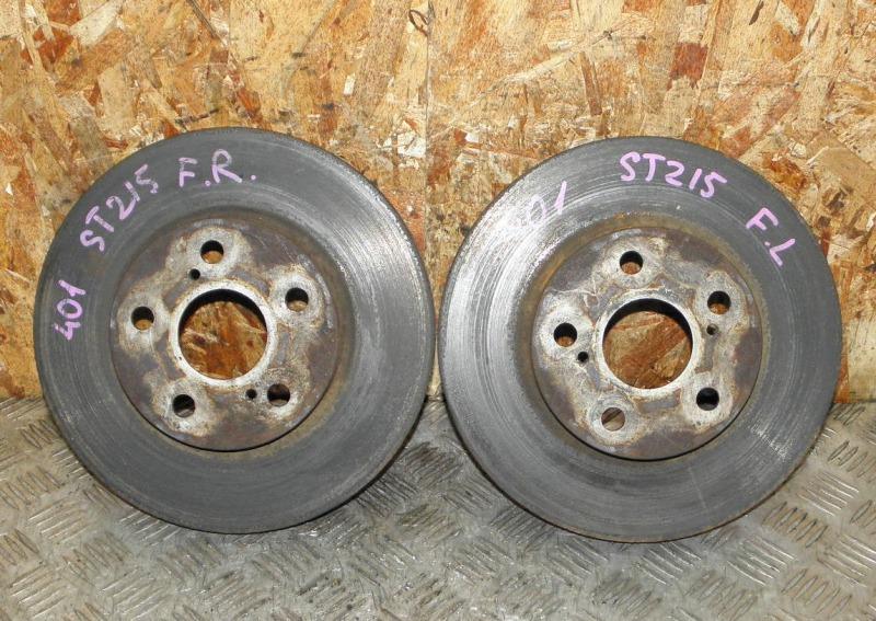 Диск тормозной Toyota Caldina ST215 3SFE 1998 передний