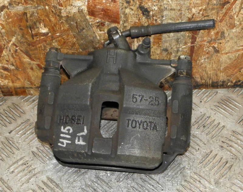 Суппорт Toyota Carina AT212 5AFE 2000 передний левый
