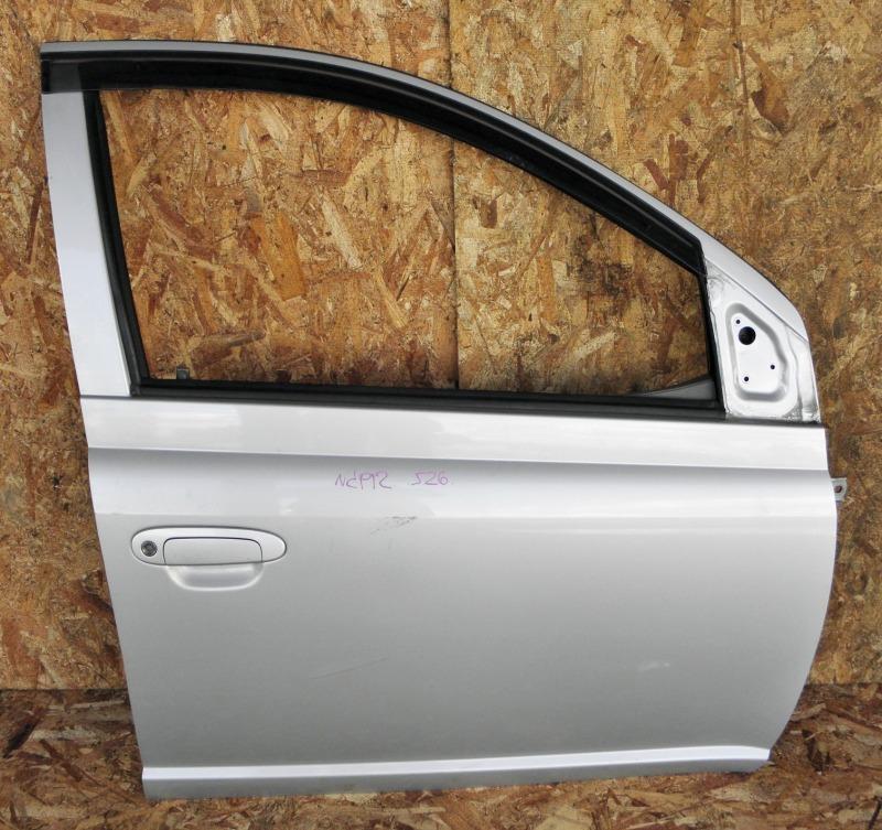 Дверь Toyota Platz NCP12 1NZFE 2003 передняя правая