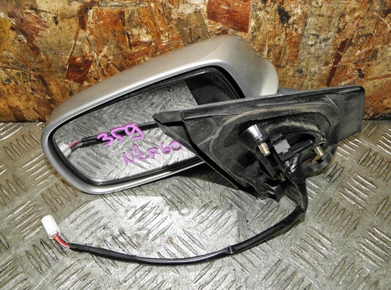 Зеркало Toyota Ist NCP60 2NZFE 2002 переднее левое