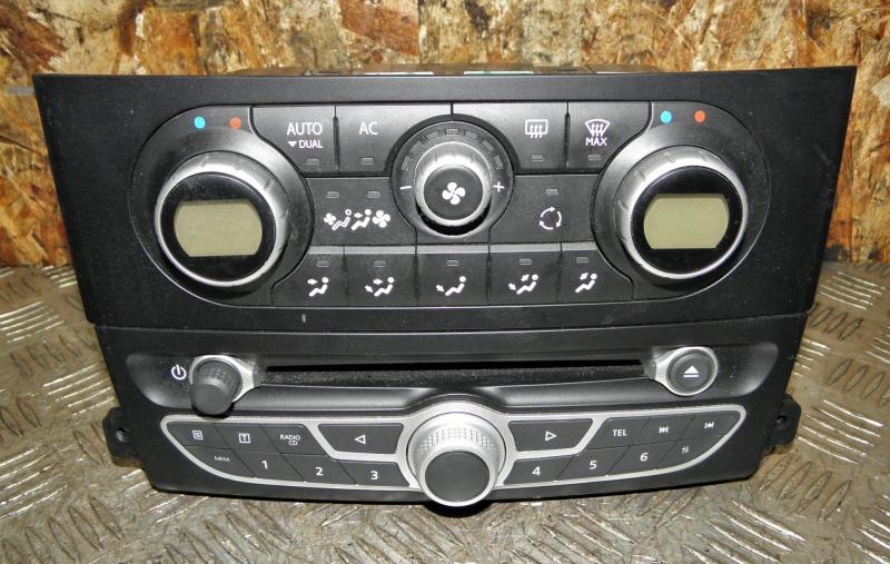 Блок управления климат-контролем Renault Koleos HY0 2TR 2TRA703