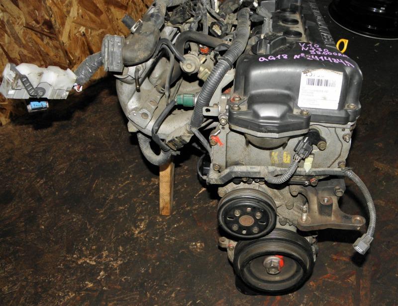 Двс Nissan Tino V10 QG18DE 2002