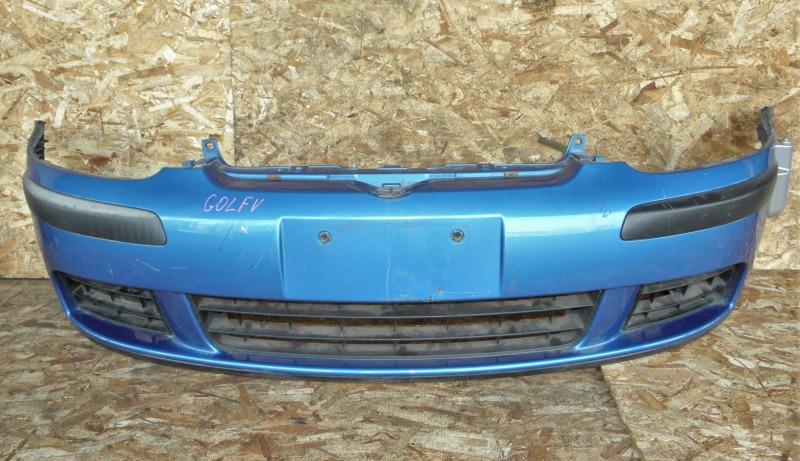 Бампер Volkswagen Golf V AXW передний