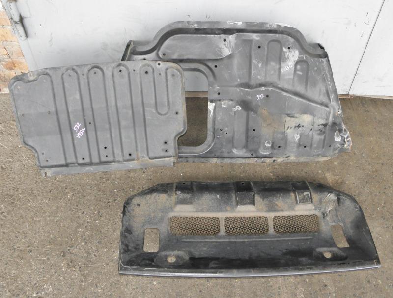 Защита двс Mitsubishi Pajero V93W 6G72 2007