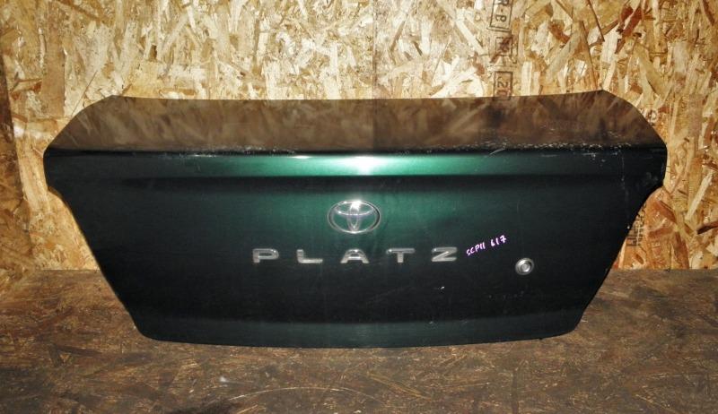 Крышка багажника Toyota Platz SCP11 1SZFE 2001