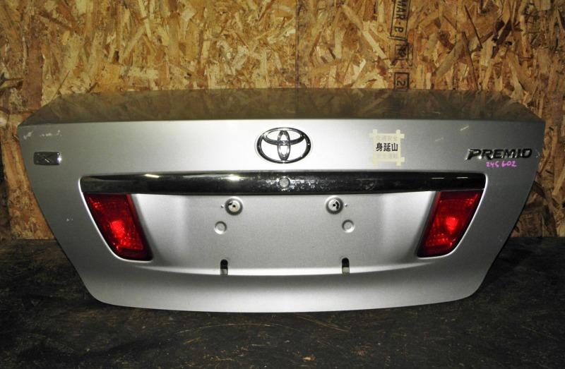 Крышка багажника Toyota Premio ZZT245 1ZZFE 2003
