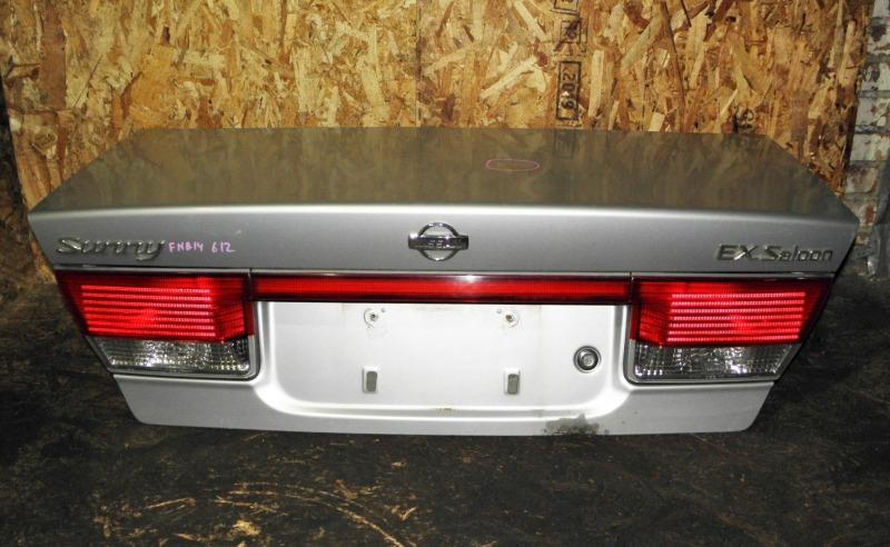 Крышка багажника Nissan Sunny FNB15 QG15DE 1999