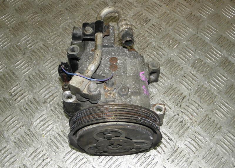 Компрессор кондиционера Nissan Sunny FNB15 QG15DE 1999