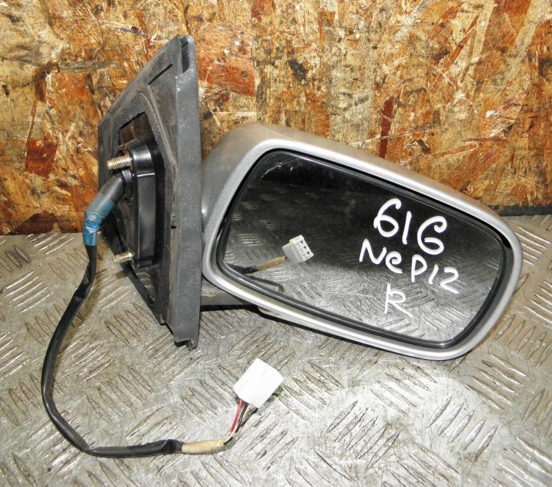 Зеркало Toyota Platz NCP12 1NZFE 2001 переднее правое