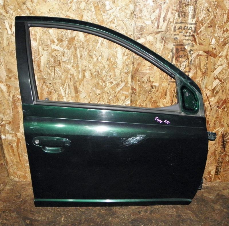 Дверь Toyota Platz SCP11 1SZFE 2001 передняя правая