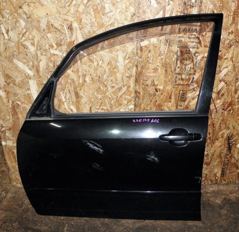 Дверь Toyota Corolla Spacio ZZE124 1ZZFE 2006 передняя левая