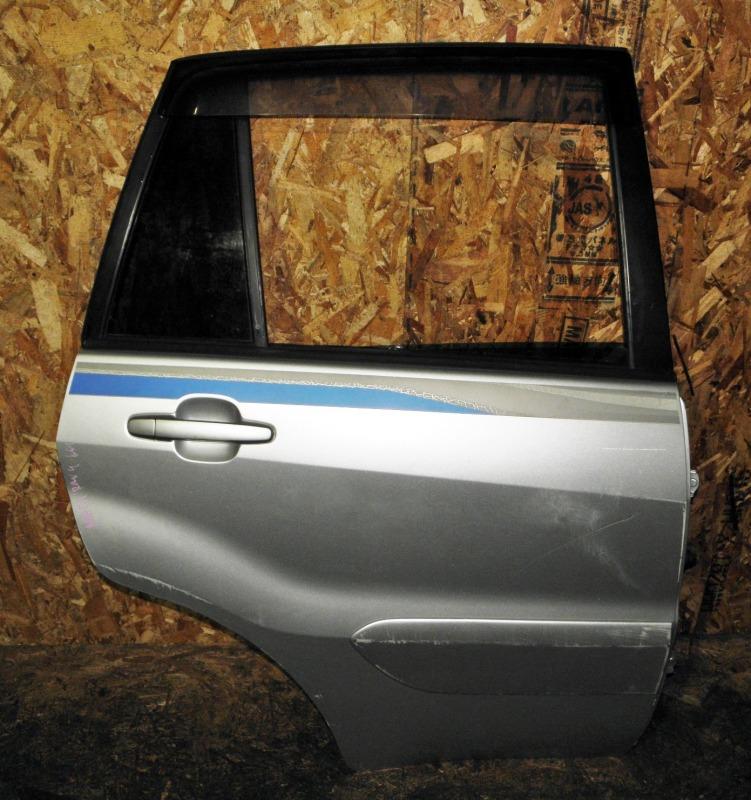 Дверь Toyota Rav4 ACA21 1AZFSE 2004 задняя правая