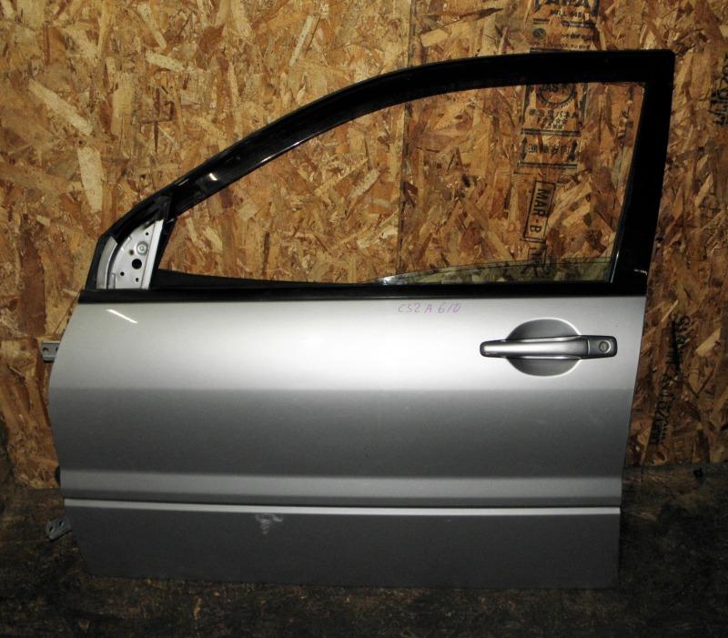 Дверь Mitsubishi Lancer CS2A 4G15 2004 передняя левая