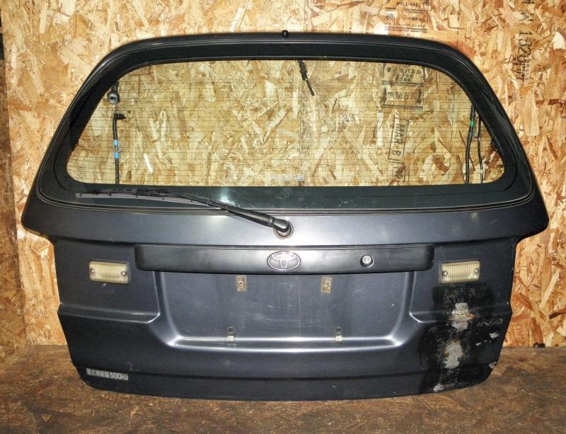 Дверь задняя Toyota Caldina ET196 5EFE 2002