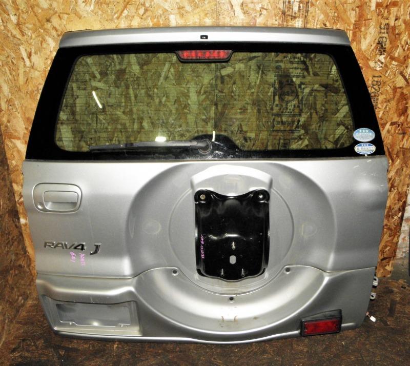 Дверь задняя Toyota Rav4 ACA21 1AZFSE 2004