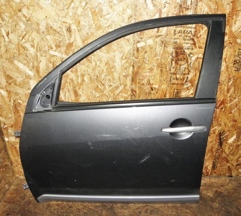 Дверь Mitsubishi Outlander Xl CW5W 4B12 2005 передняя левая