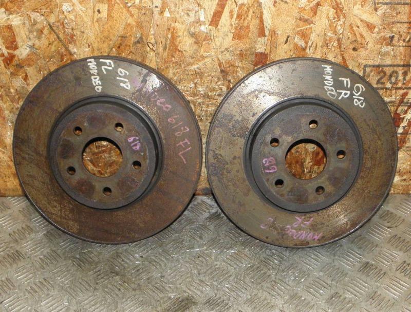 Диск тормозной Ford Mondeo B4Y CJBB (2.0L DURATEC HE SEFI (145 Л.С.)) 2003 передний