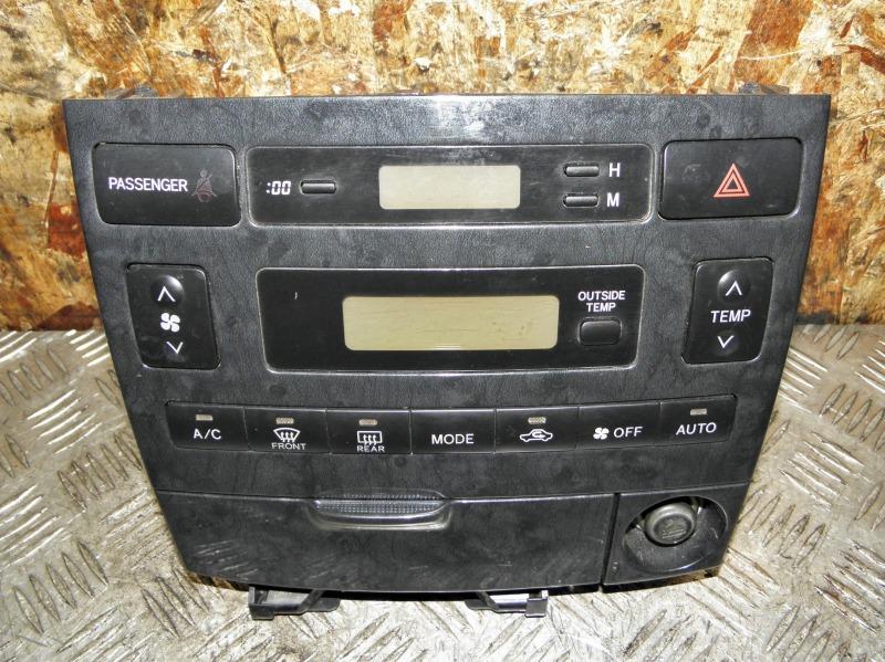 Блок управления климат-контролем Toyota Corolla Spacio ZZE124 1ZZFE 2006