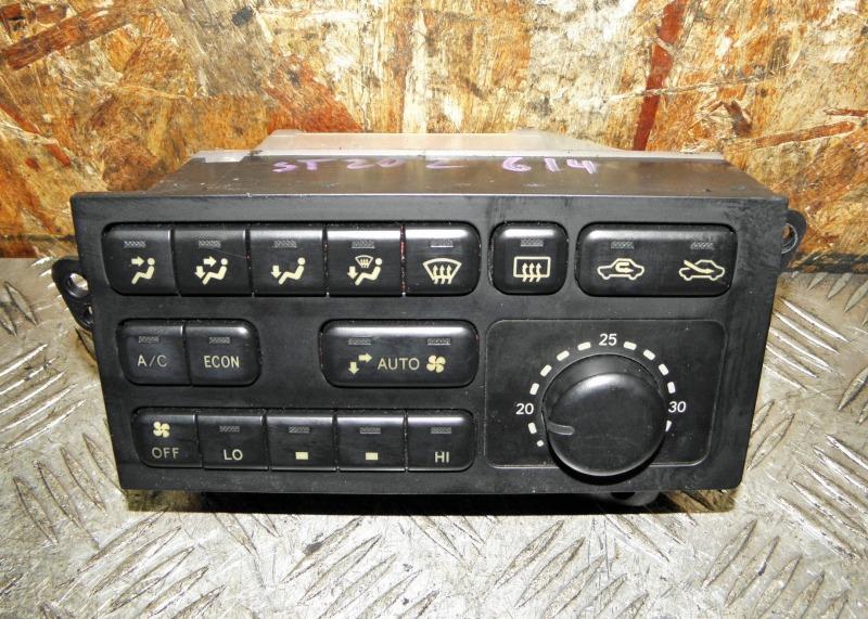 Блок управления климат-контролем Toyota Corona Exiv ST202 3SFE 1995