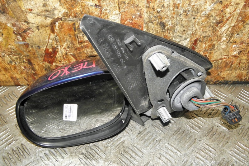 Зеркало Peugeot 206 KFW 10FSR6 переднее левое