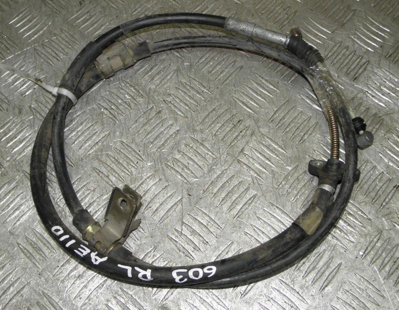 Тросик ручника Toyota Corolla AE110 5AFE 1999 задний левый