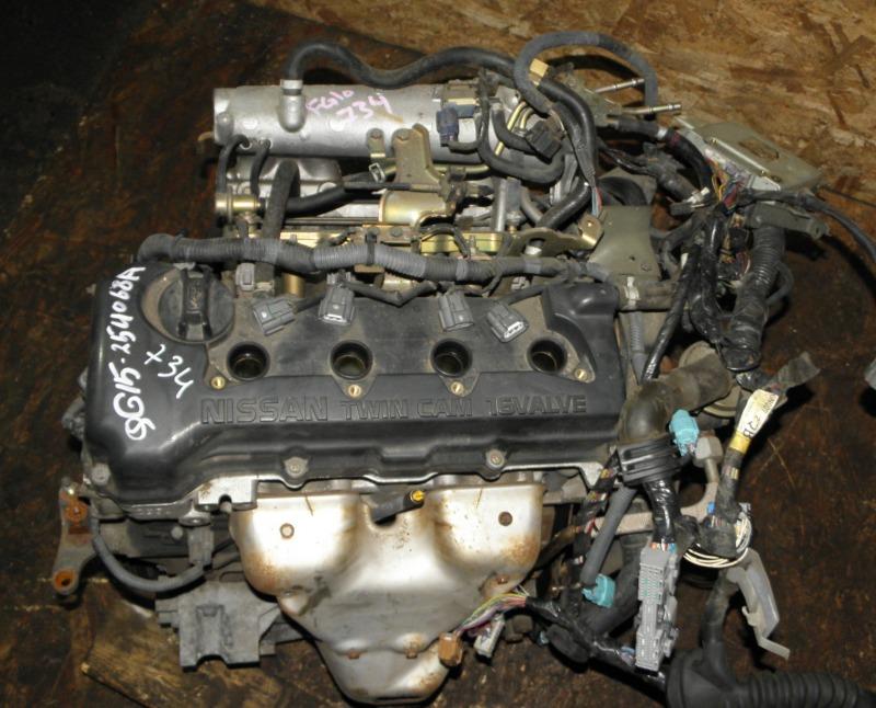 Двс Nissan Bluebird Sylphy FG10 QG15DE 2001