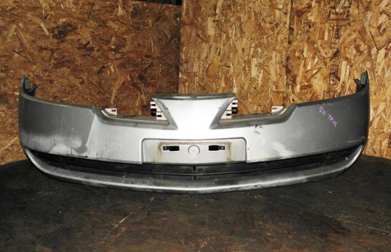 Бампер Nissan Primera TP12 QR20DE 2001 передний
