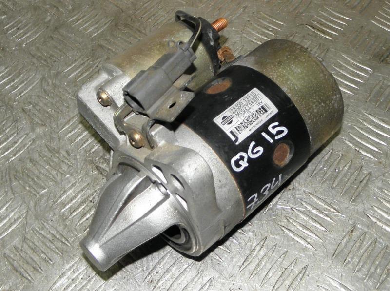 Стартер Nissan Bluebird Sylphy FG10 QG15DE 2001