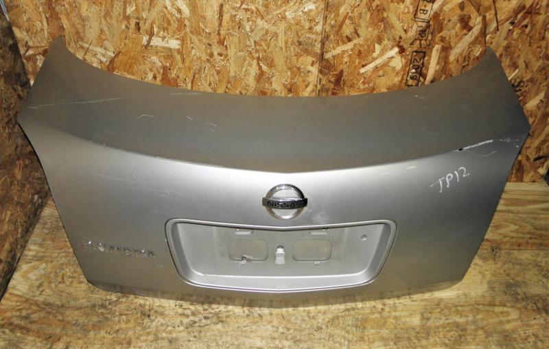 Крышка багажника Nissan Primera TP12 QR20DE 2001