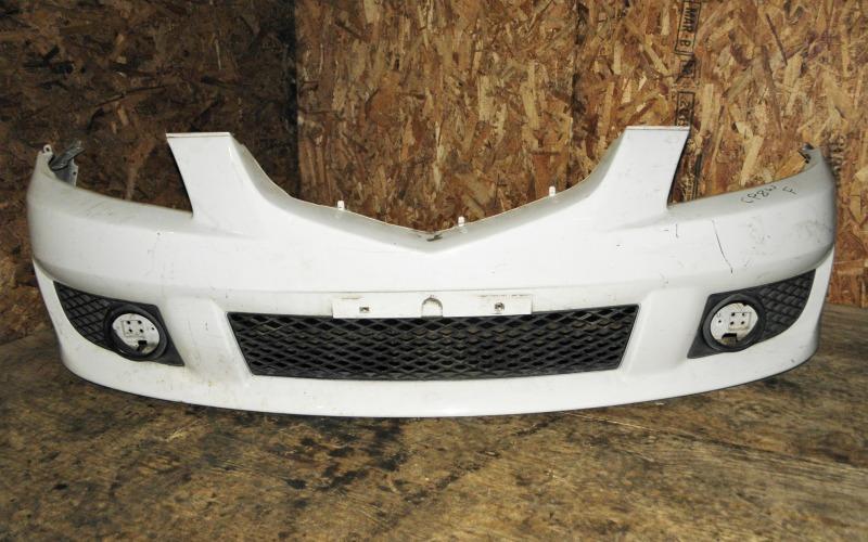 Бампер Mazda Premacy CP8W FPDE 2002 передний