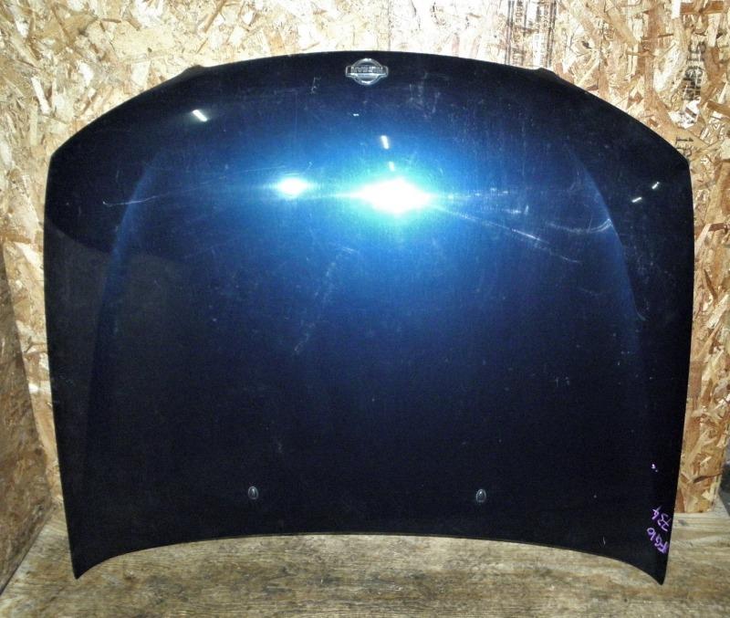 Капот Nissan Bluebird Sylphy FG10 QG15DE 2001