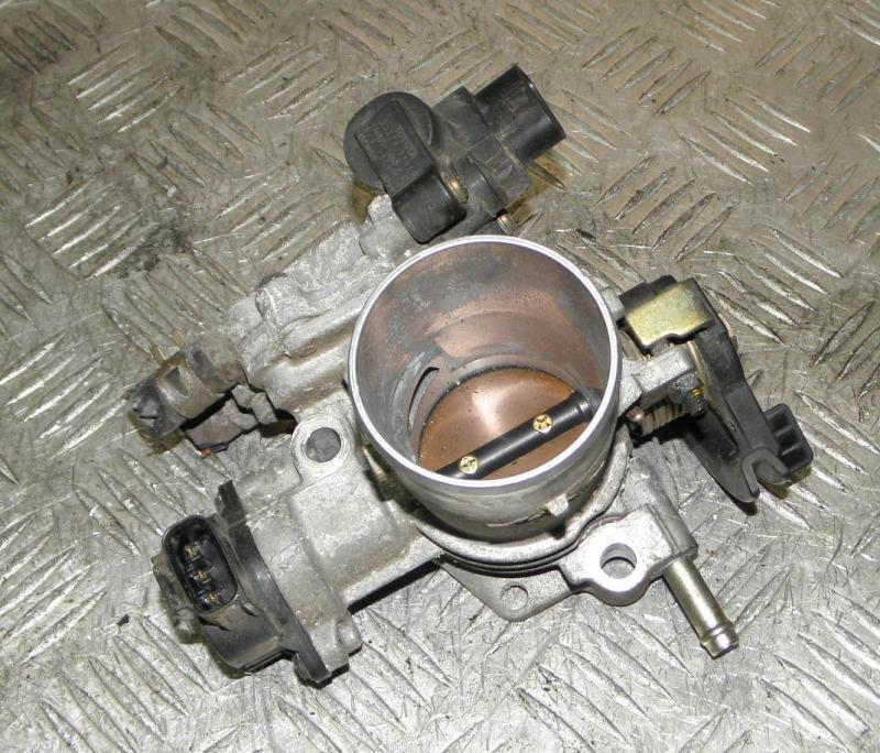 Блок дроссельной заслонки Toyota Funcargo NCP20 2NZFE 2002