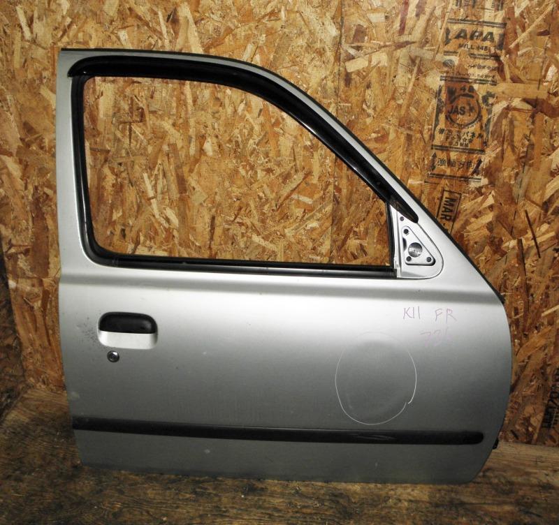Дверь Nissan March K11 CG10DE 1997 передняя правая