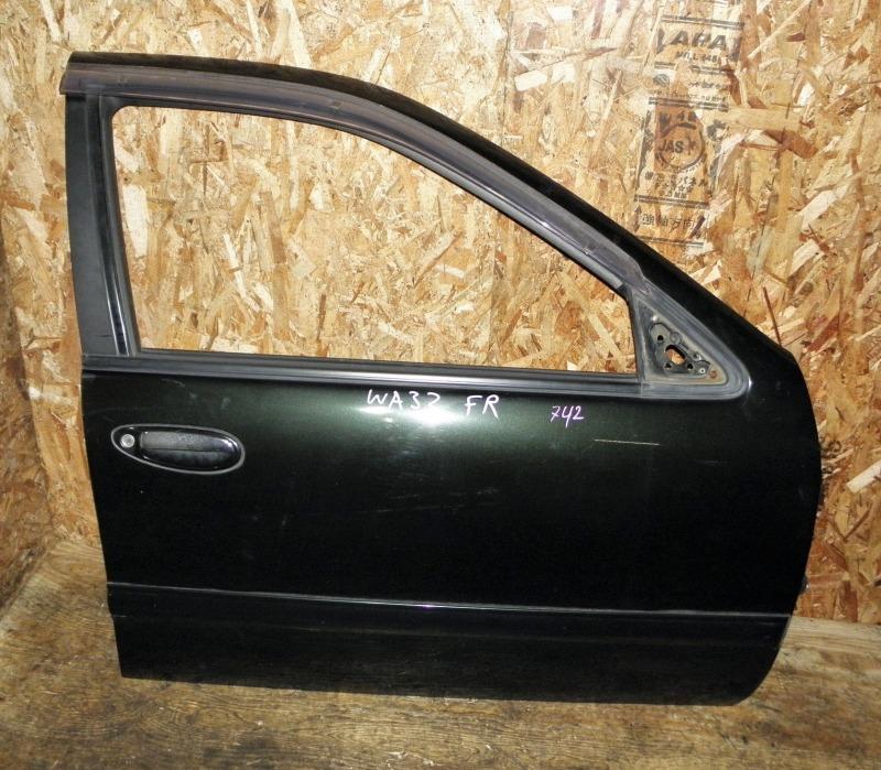 Дверь Nissan Cefiro Wagon WA32 VQ20DE 1997 передняя правая
