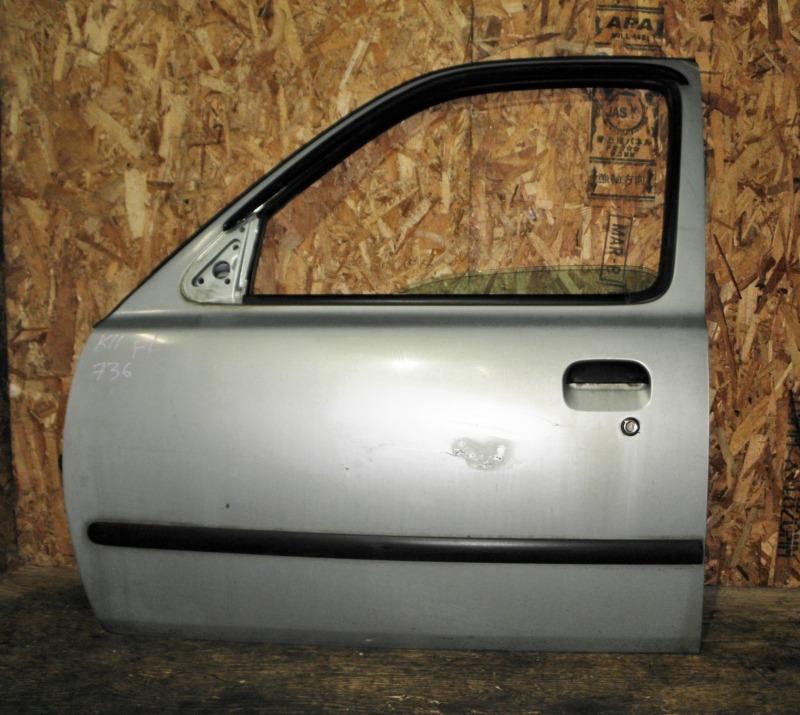 Дверь Nissan March K11 CG10DE 1997 передняя левая