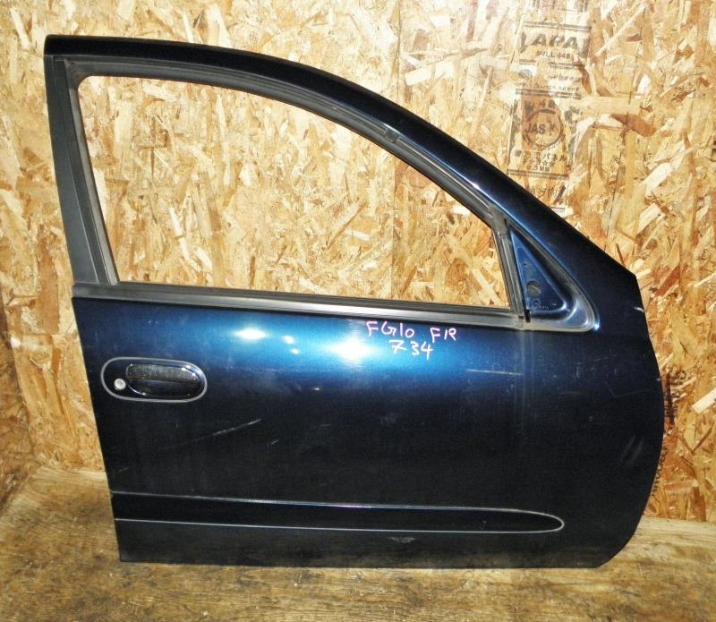 Дверь Nissan Bluebird Sylphy FG10 QG15DE 2001 передняя правая
