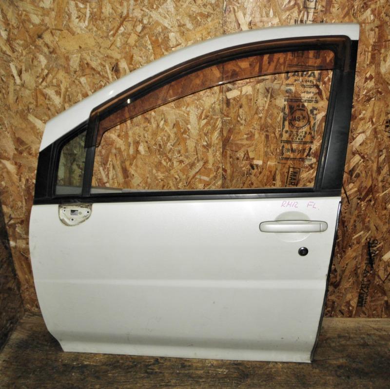 Дверь Nissan Liberty RM12 QR20DE 2002 передняя левая