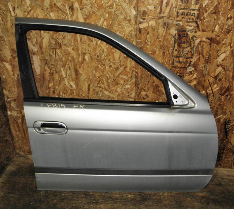 Дверь Nissan Sunny FB15 QG15DE 2001 передняя правая