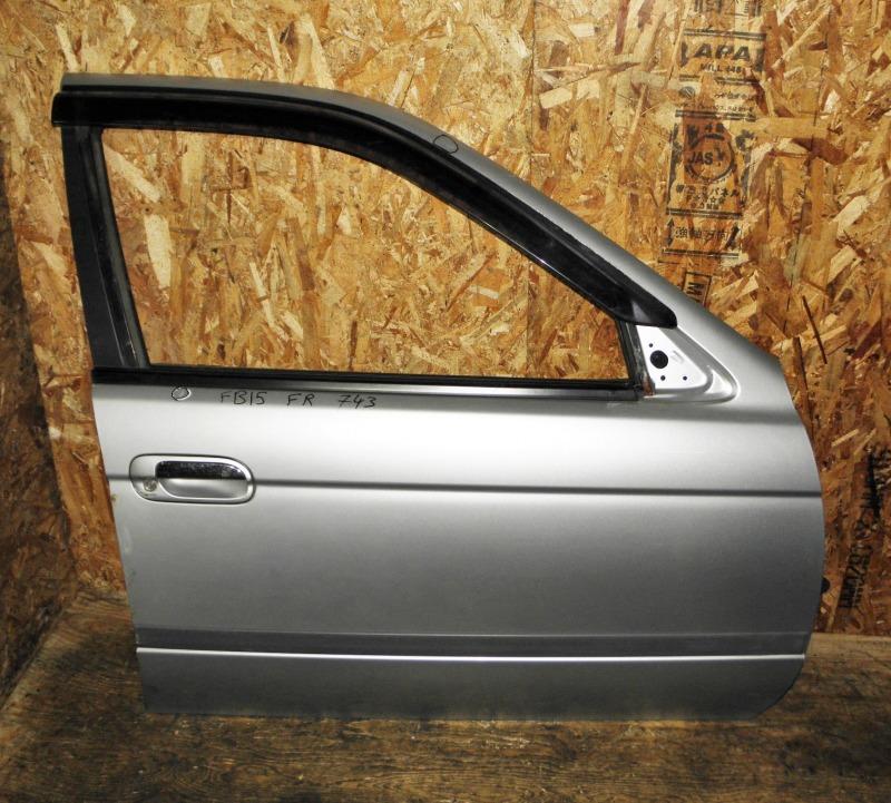 Дверь Nissan Sunny FB15 QG15DE 2000 передняя правая