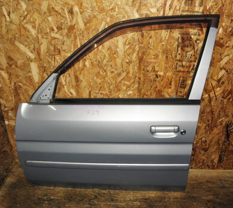 Дверь Mazda Demio DW3W B3 2001 передняя левая