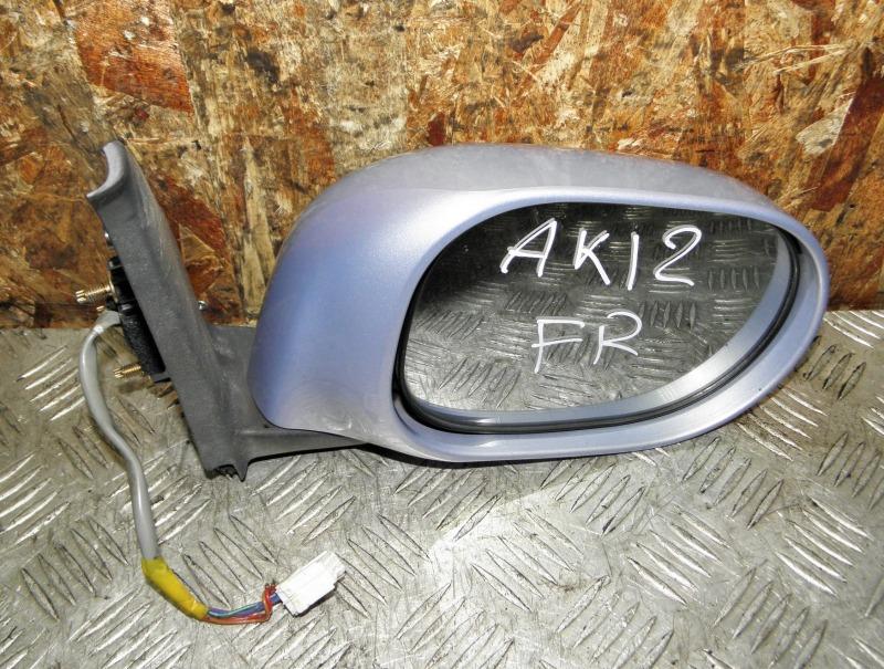Зеркало Nissan March AK12 CR12DE 2004 переднее правое