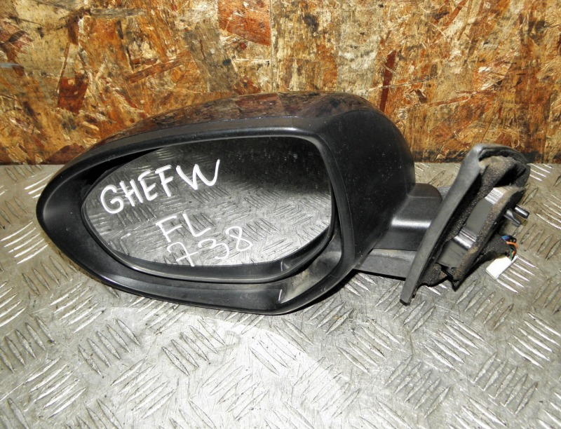 Зеркало Mazda Atenza Sport Wagon GHEFW LFVD 2011 переднее левое